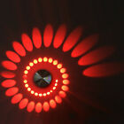 Modern 3W LED Wall Sconce Light Spiral Ceiling Lamp Fixture Dimmable/N Corridor