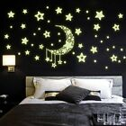 Diy Night Light Glow In The Dark Moon Stars Home Decoration New Df
