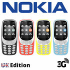 Brand New Boxed Nokia 3310  Dual Sim 2 G  Bluetooth Camera Cell Phone Uk Stock