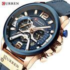 CURREN Mens Casual Relogio Masculino Chronograph Analog Quartz Wrist Watch 8329 image