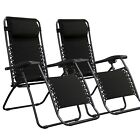 KEPLIN GRAVITY CHAIRS RECLINING SUN LOUNGERS OUTDOOR GARDEN PATIO