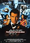 "Tomorrow Never Dies Movie Silk Fabric Poster 11""x17"" 24""x36""  Rare $11.93 CAD on eBay"