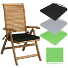 Waterproof Chair Cushion Seat Pad Outdoor Tie On Garden Patio Removable Cover HL