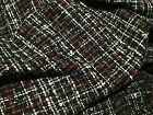 New Beautiful High Class Multi Colour Wool Boucle Fabric 59