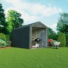 Garden Gear Apex Waterproof Shed 6x6 - 8x12ft Firewood Log Portable Car Storage