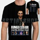 New Ringo Starr And His All Starr Band Tour 2019 with Dates T-Shirt Size S-5XL