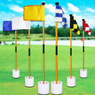 Practice Golf pole Hole Courtyard Home Stick Putting Green Chipping Tool Sign