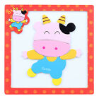 Magnetic Puzzle Lot Mat Drawing Board Box Educational Toy for Infant Child Kid