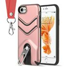 FOR IPHONE 8 / 7 THE VICTORY HYBRID CASE WITH METAL CAP STAND AND LANYARD $10.83 USD on eBay