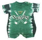 NHL Infant Dallas Stars Retro Tie-Dye Romper, Green $4.99 USD on eBay