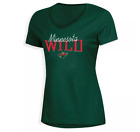 NHL Minnesota Wild Women's Overtime V-Neck T-Shirt NWT Sizes Small and Medium $9.99 USD on eBay