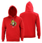Reebok NHL Men's Ottawa Senators Jersey Crest Pullover Hoodie $39.95 USD on eBay