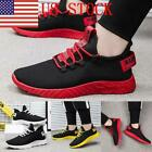 US Men's Sports Running Breathable Shoes Sports Casual Walking Athletic Sneakers