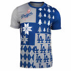 FOCO MLB Men's Los Angeles Dodgers Busy Block Ugly Crew Neck Tee on Ebay
