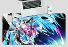 3D Stage Long Hair Beauty O325 Japan Anime Non-slip Office Desk Keyboard Pad Amy