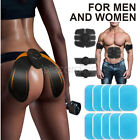 Electric ABS Simulator EMS Training Abdominal&Hip Muscle Exerciser Waist Trimmer image