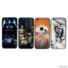 Star Wars Glass Case Tempered Hard Gloss for Apple iPhone 6 6s 7 8 X XS Cover $17.64 CAD on eBay