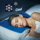 Cooling Gel Pillow Chilled Natural Comfort Sleeping Aid Body Cool Bed Pad 4PCS image