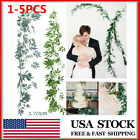 67'' Artificial Wedding Willow Vine Plant Greenery Garland Wreath Leaves Hanging