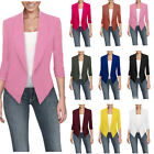Womens Ladies Slim Fit Outwear Business Blazer Suit Jacket Tops Outwear Coat