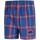 Concepts Sport Chicago Cubs Royal/Red Hillstone Flannel Boxers on Ebay