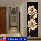 3Pcs Chrysanthemum Art Canvas Painting Print Wall Pictures Home Decor Unframed