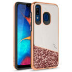 For Samsung Galaxy A20 / A50 Dual Layer Slim Fit Hard Cover Phone Case