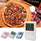 1 X Large LCD Digital Kitchen Egg Cooking Timer Count Down Clock Alarm Stopwatch