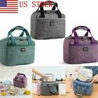US Kids Insulated Lunch Bento Bag Oxford Portable Camping Travel Tote Bags 03