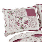 Hadley Floral Patchwork Quilted Pillow Sham image