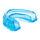 Shock Doctor Braces Mouthguard Adult Age 12  Blue  (Strapped-Strapless)