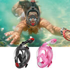 Kyпить Scuba Diving Mask Adult Full Face Snorkel Set Anti-Fog Anti-Leak Easy Breath  на еВаy.соm