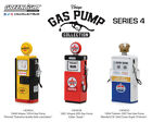 GREENLIGHT VINTAGE GAS PUMPS 14030A 14040A & C 14050A & B PENNZOIL PURE 1:18