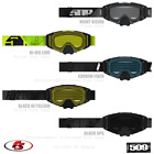 New 2020 509 Sinister X6 Snowmobile Goggles BlackOps,Carbon,Hi-Vis Lime,Night