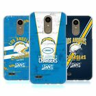 OFFICIAL NFL 2019/20 LOS ANGELES CHARGERS HARD BACK CASE FOR LG PHONES 1