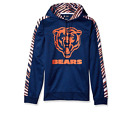 Zubaz Men's NFL Chicago Bears Pullover Hoodie With Zebra Accents $34.95 USD on eBay