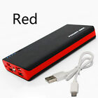 Mobile Power Supply 500000mAh LED Travel Power Bank USB External Battery Charger