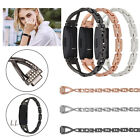 For Fitbit Inspire/Inspire HR Watch Band Metal Stainless Steel Wristband Strap