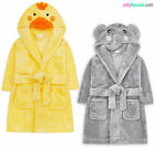 Girls Boys Baby Dressing Gown New Novelty Kids Unisex Bath Robe Ages 6-24 Months