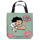 Betty Boop with Pudgy GOODNIGHT KISS Lipstick Tote Bag Many Sizes $38.64 AUD on eBay