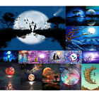 Full Drill Moon Stars 5D Diamond Painting Cross Crafts Stitch Embroidery Decor