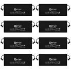 Mighty Max 12V 200Ah 4D Battery Replaces Concorde Sun Xtender PVX 2120L - 8 Pack