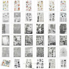 New Arrival Xmas Transparent Clear Silicone Stamp Seal DIY Scrapbooking Card