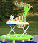 2 in 1  Baby walker & rocker with parental handle,Shade,Mat,Brakes & Musical Toy <br/> Multple features   High Quality  Fast FREE delivery