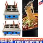Commercial 4/6 Holes Noodles Cooker Electric Pasta Cooking Machine Pasta Marker