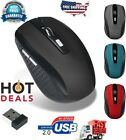 Mini 2.4GHz Wireless Gaming Mouse Mice USB Receiver For PC Laptop Desktop