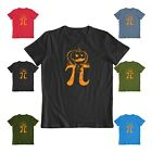 Geek pumpkin pi funny unisex halloween funny custom party tee shirt
