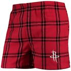 Concepts Sport Houston Rockets Red Homestretch Flannel Boxer Shorts on eBay