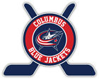"Columbus Blue Jackets Sticks Logo NHL Sport Car Bumper Sticker Decal ""SIZES'' $3.75 USD on eBay"
