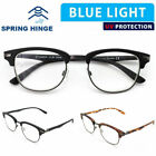 Anti Blue Light & Anti Block Glare Computer Game Readig Glasses Readers Unisex